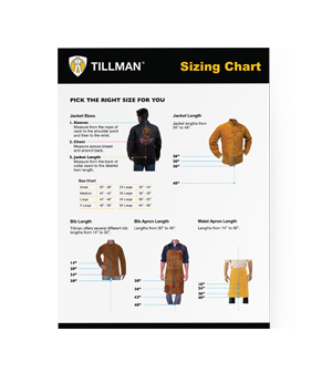 Tillman® Sizing Chart